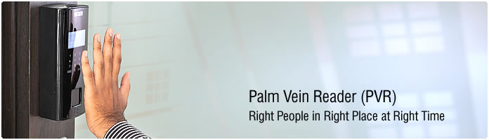 Palm Vein Reader Access System Which Recognize With Palm print